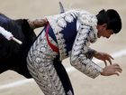 A SPANISH bullfighter has been gored in the testicles in front of thousands of spectators in Madrid.