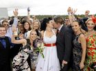 PLANNING a wedding is a major ordeal for any couple, but giving yourself six weeks to plan for a wedding at the Ipswich Cup, something had to happen.