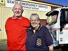 RUSSELL Ladlay and Ross Elliott's service to Queenslanders in need goes back further than the SES itself.