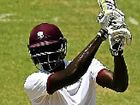 AN unbeatean 82 from 63 balls by Jason Holder was the only real resistance offered by the West Indies on day three of the second Test in Kingston.