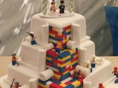 A LONDON bakery has been forced to make a public appeal for people to stop contacting them after making a cake out of edible Lego bricks.
