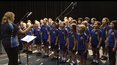 Lismore RSL has recorded the Lismore Public School senior choir singing O Valiant Heart to be played at the funerals of ex-servicemen and women.