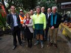 Tweed Shire Council hosted a breakfast sausage sizzle, cooked up by the Tweed Heads/Coolangatta Lions Club, for the businesses on Bay St last week. The barbecue marked the completion of roadworks.