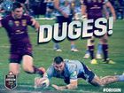 THE New South Wales Blues have won the second State of Origin game 26-18 making the series total one all with the decider match to be held at Suncorp Stadium.