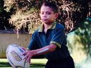 AT 31kg, Malaki Ferguson is the lightest member of the Byron Bay Lennox Head Under-12 junior rugby league team.