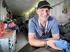 LOGISTICS MAN: APRC coordinator Murray Brown prepares ahead of the International Rally of Queensland.