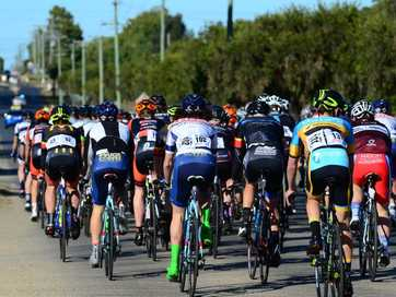 All the action from Sunday's stage two of the Ciclisimo South Burnett.