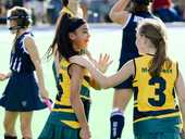 AN unbeaten performance by the Met West girls capped an impressive display  at the Queensland School Sport 10-12 years state hockey championships.