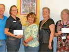 Walkers donate funds to causes