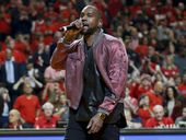 """NOTORIOUS perfectionist Kanye West has stormed off stage during a performance in Canada in what's been described as """"the best mic drop of all time""""."""