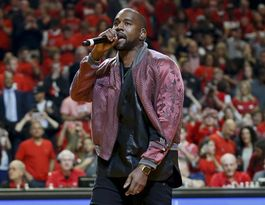 Kanye West storms off stage after 'best mic drop ever'