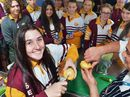 HUNDREDS of high school students explored further study options at a massive open day in Gympie yesterday.