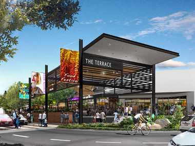 FEEDING THE FUTURE: The new project for Stockland Rockhampton, dubbed The Terrace, is set to bring about 80 new retail and construction jobs.