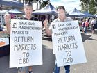 A SECOND Maryborough business has announced it will close, blaming the re-positioning of the CBD's markets, as loud calls from the community to return the markets to Adelaide St have been given support by two councillors.