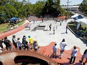 A PROJECT that saw school children use mathematics to influence policy on the location of a skate park at Nambour will be discussed at an international conference of maths educators at the University of the Sunshine Coast starting on Sunday.