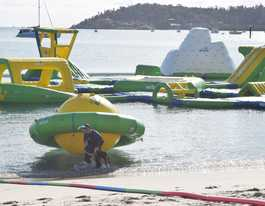Limbo for Boathaven's Airlie Aqua Park
