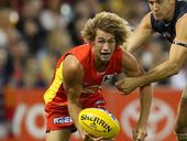 For Alik Magin, running out with the Gold Coast Suns for their first AFL match would probably settle into second place on his list of lifetime highlights.