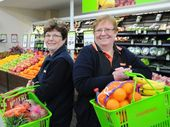 IT'S a tough world out there for an independent supermarket, but Foodworks co-owners Debbie Smith and Lindy Baker have chosen to adapt to survive.