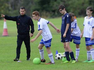 St Eddies soccer clinic