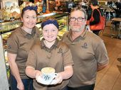 GLADSTONE is a thriving metropolis according to two of its newest business owners, who have come from small towns out west.