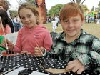 FAMILIES flocked to Leslie Park yesterday to celebrate NAIDOC week.