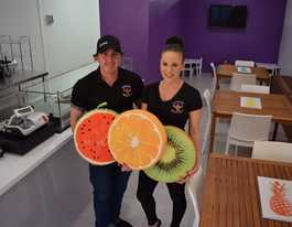Couple 'pumped' about their new juice bar in Yeppoon