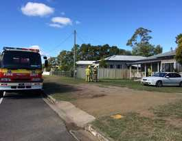 Man rushed to hospital after fire in Murgon home