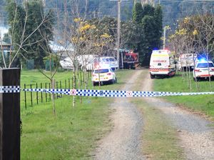 A house fire in Nana Glen has seen a quick response from emergency service crews.