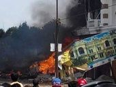 An INDONESIAN military plane has crashed in the city of Medan in Sumatra killing at least 30 people, officials have said.