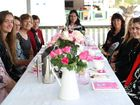 Tweed Valley Banana Festival Queen entrant Rhiannon Francis and friends indulged in a high tea at the House of Gabriel cafe at Tumbulgum last week.