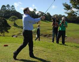 Maleny golf course opens to high praise from dignitaries