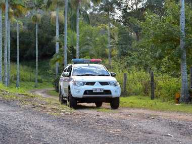 Police on a property at Glenview Photo: Warren Lynam / Sunshine Coast Daily