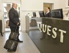 First guests check in at stylish new Quest Apartments