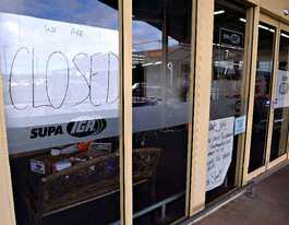 Sad time as Bargara IGA's doors close for the last time