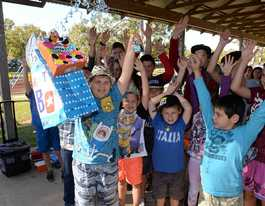 Over 100 gather for Jayden's surprise party