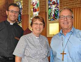 Two churches come together in the Byron spirit