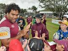 THE name of Queensland's next superstar may not yet be known but they could well have been one of the thousands of young faces in Proserpine for the fan day.