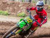 MITCHELL Dark and Akia Smith dominated the Mini Lites at the Queensland Motocross Championships, finishing first and second respectively.