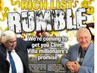 "A MILLIONAIRE with rich friends in high places has put out the ""call to arms"" to take on Clive Palmer."