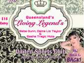 Queenslands Living Legends, Drag Queen Royalty join for the Night.