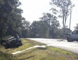 Two injured in Bribie Island Road collision