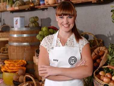MasterChef Australia Top 9 contestant Amy Luttrell.
