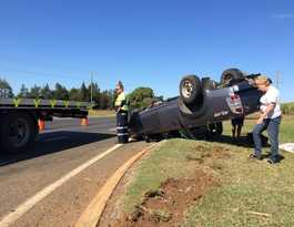 Four-wheel drive flips in Goodwood Rd smash