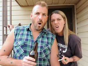 The cast of bogan mock-umentary show Housos will visit Ipswich today (Tuesday, October 30) ahead of the release of the Housos movie. Photo: Contributed