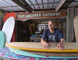 What's the future for our surfboard shapers?: Wegener