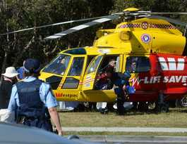 How helicopter's new procedure helped save Mathew's life