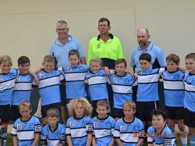 The Central Downs under-35kg zone rugby league team has enjoyed an outstanding week of rugby league in Charleville. Photo Contributed