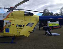 Trail bike rider airlifted from Boyne Valley