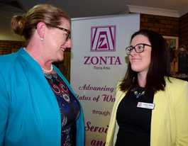 New generation of Zonta women leading the way in Roma