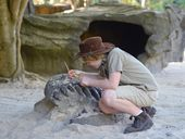 UNLIKE most kids, Robert can lay claim to digging up a fossil from a species never before discovered in Australia.